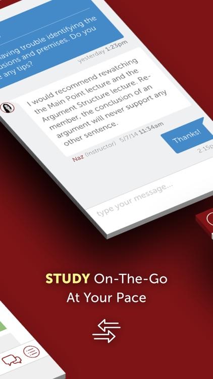 LSATMax LSAT Prep Courses with Real Practice LSATs screenshot-3