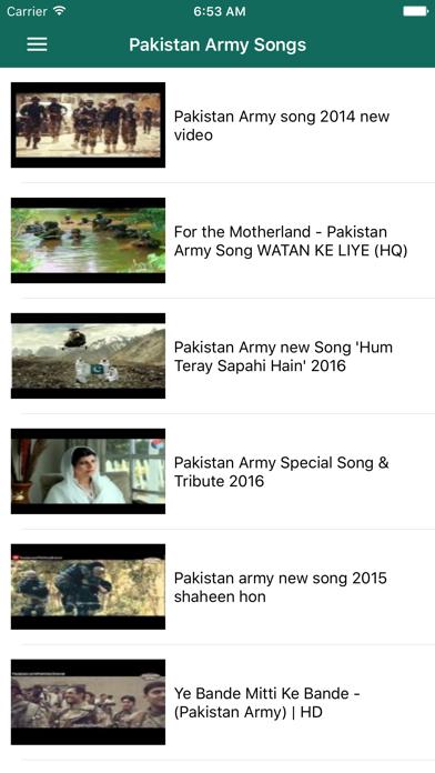 Pakistani Milli Naghmay screenshot four