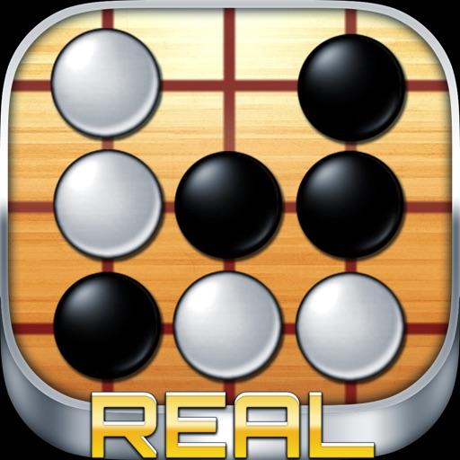 五目並べ REAL - 無料で2人対戦できる 簡単 ボードゲーム