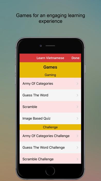 Vietnamese Language Learner screenshot three