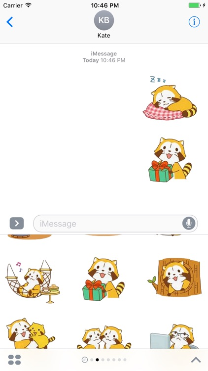 Cute Kitten Stickers Pack for iMessage