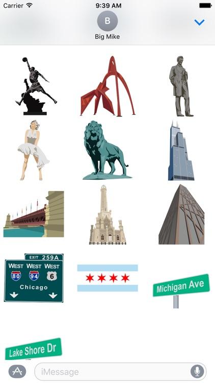 Chicago Sticker Collection screenshot-3