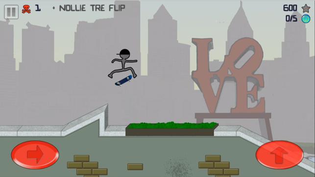 Stickman Skater Free On The App Store