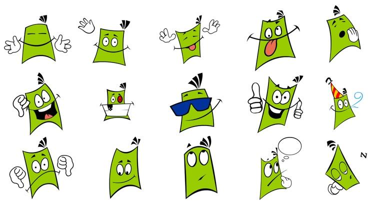 Comics Head Animated Stickers