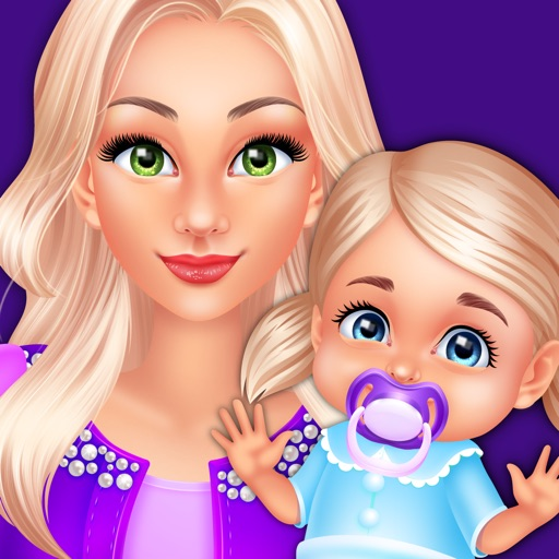 Babysitter Makeup Party Salon  - Baby Girl Games