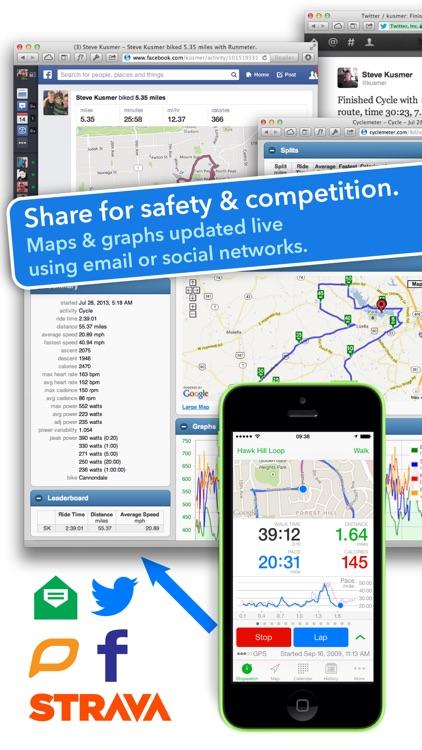 Walkmeter GPS Pedometer - Walking, Running, Hiking screenshot-3