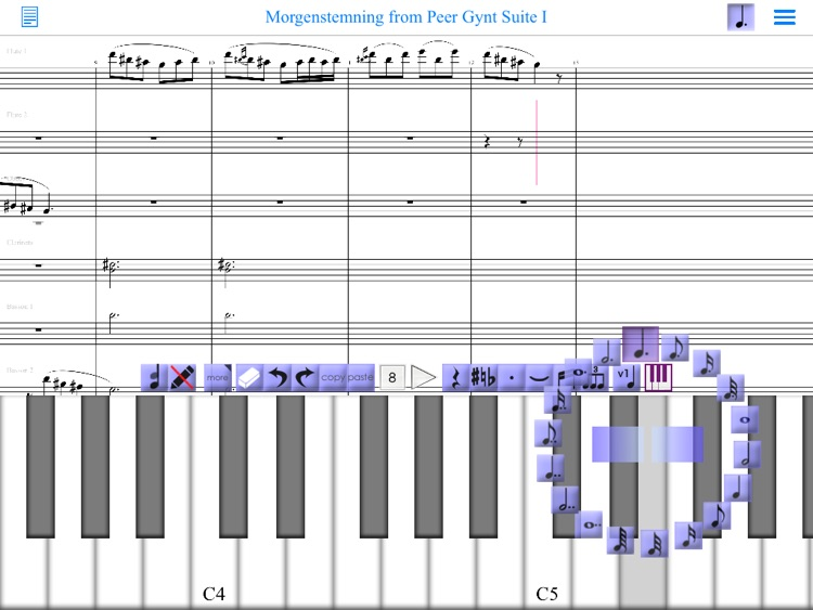 iWriteMusic for iPad