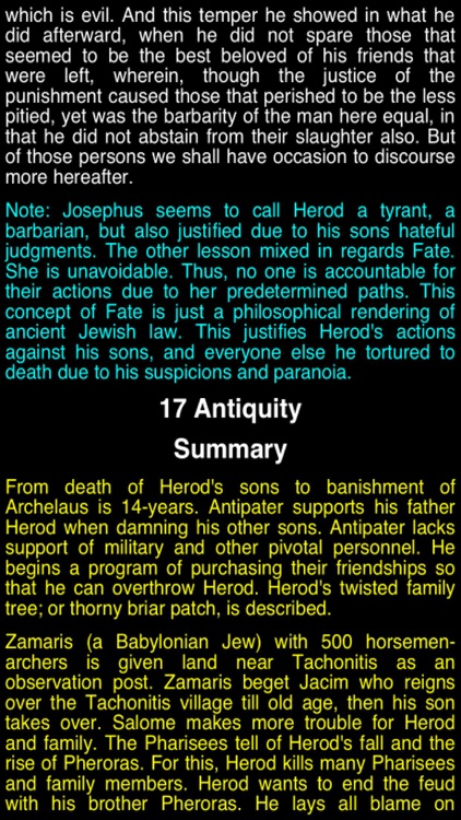 Summary Flavius Josephus (part 5) screenshot-2