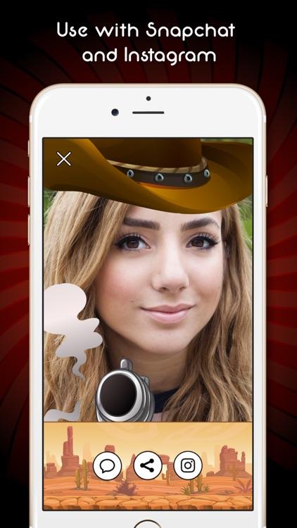 Wild West Cowboy Photo Booth screenshot-4