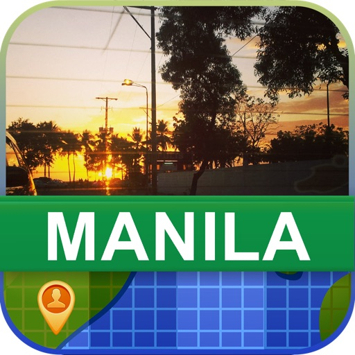Offline Manila, Philippine Map - World Offline Maps