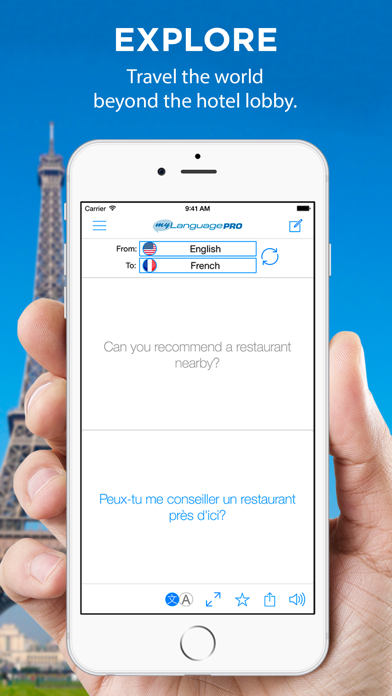 Translate Voice - Language Translator & Dictionary Screenshot