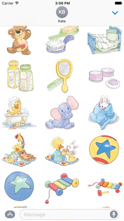 Baby Photo Selfie Suzy's Zoo Stickers