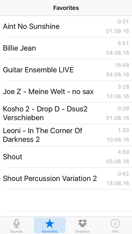 Sound Memos screenshot-4