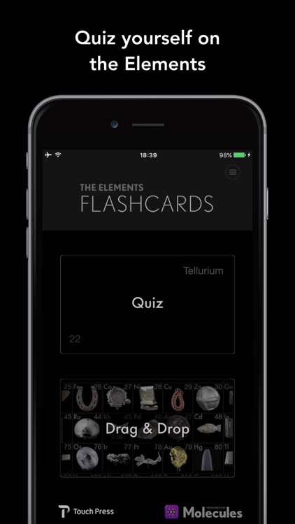 The Elements Flashcards by Theodore Gray