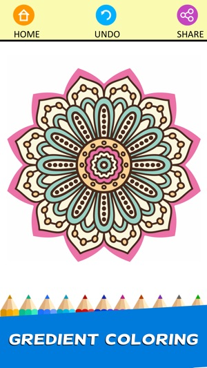 Adult Mandala Coloring Book Therapy Stress Relief On The App Store