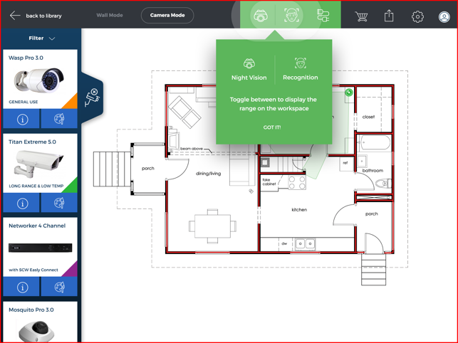 ‎SCW Surveillance Floor Plan Designer On The App Store