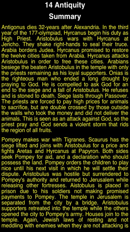 Summary Flavius Josephus (part 4) screenshot-2