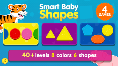 Smart Baby Shapes: Learning games for toddler kids for windows pc