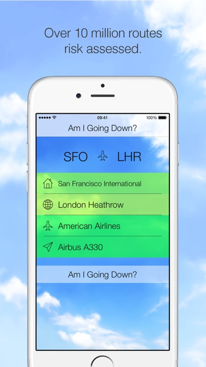 Am I Going Down? Fear of Flying App screenshot-3