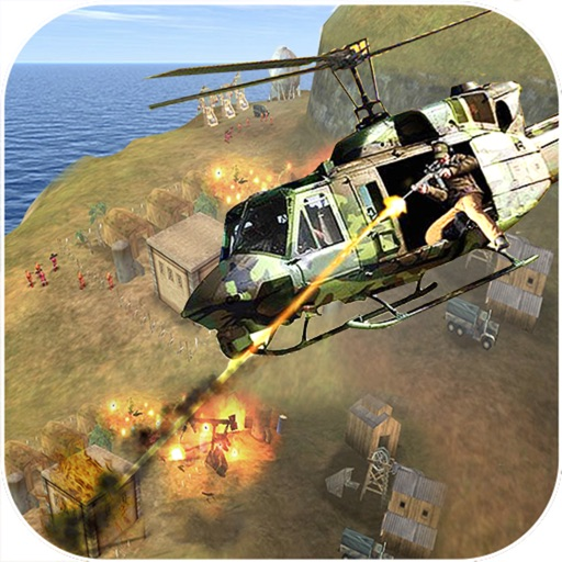 VR Helicopter Sniper : 3D Shoot-ing kill-er Game iOS App