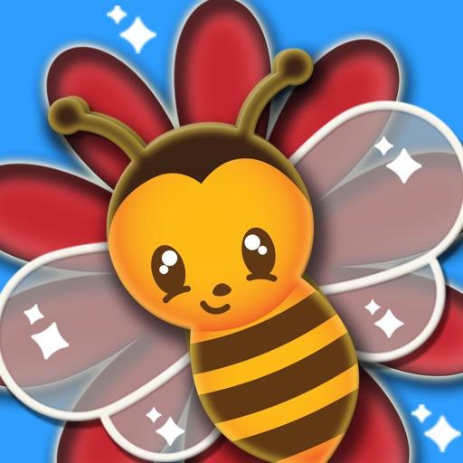 Bees Gather Honey