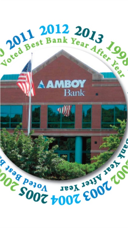 Amboy Bank's Mobile Banking screenshot-0