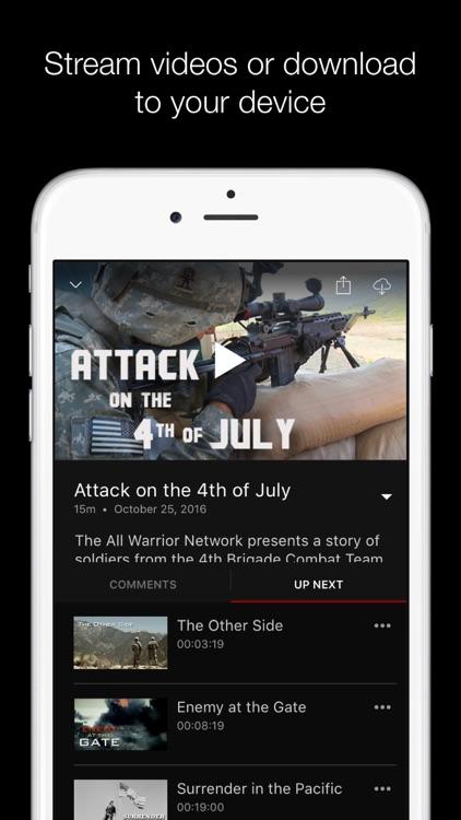 All Warrior Network screenshot-4