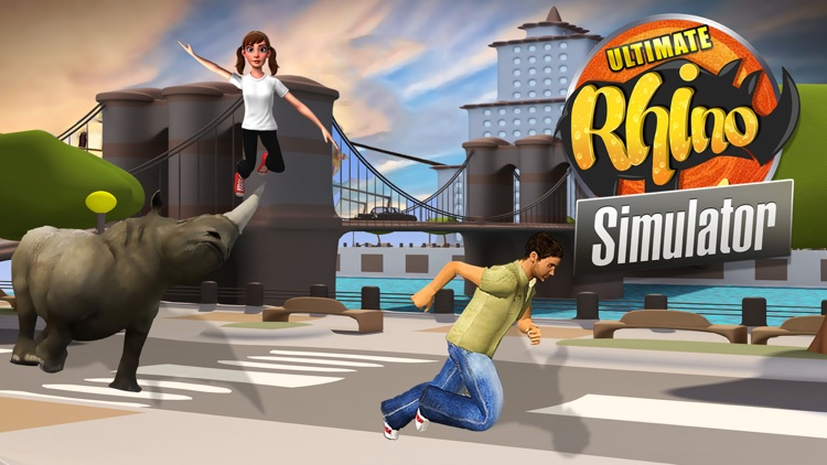 Ultimate Rhino Simulator - Animal Survival games