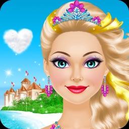 Tropical Princess: Girls Makeup and Dress Up Games
