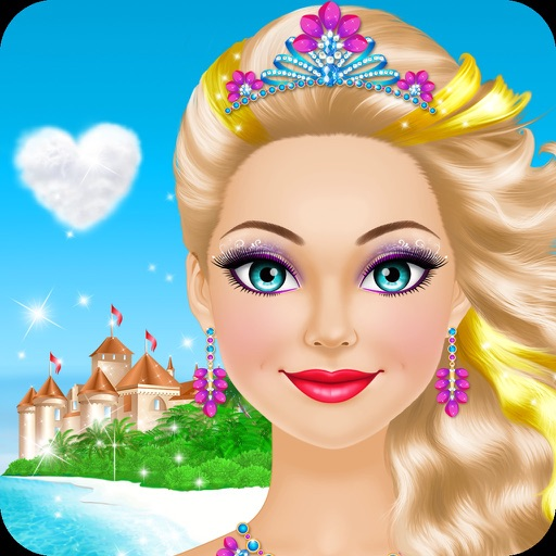 Girls Makeup Makeover And Games: Tropical Princess: Girls Makeup And Dress Up Games By