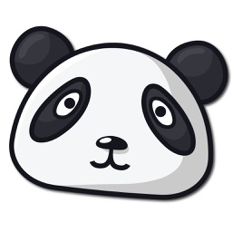 Bamboo Panda Stickers