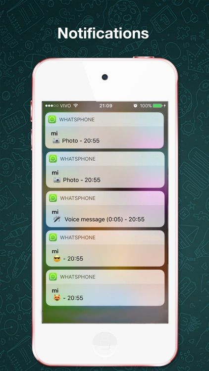 Chat for WhatsApp Messenger for iPod