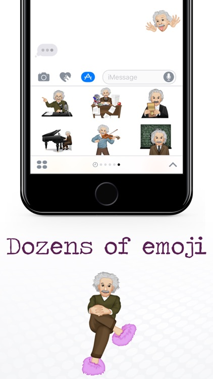EinsteinMoji ™ by Albert Einstein