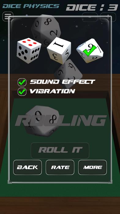 Dice Physics screenshot two