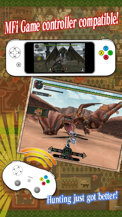 MONSTER HUNTER FREEDOM UNITE for iOS screenshot-4