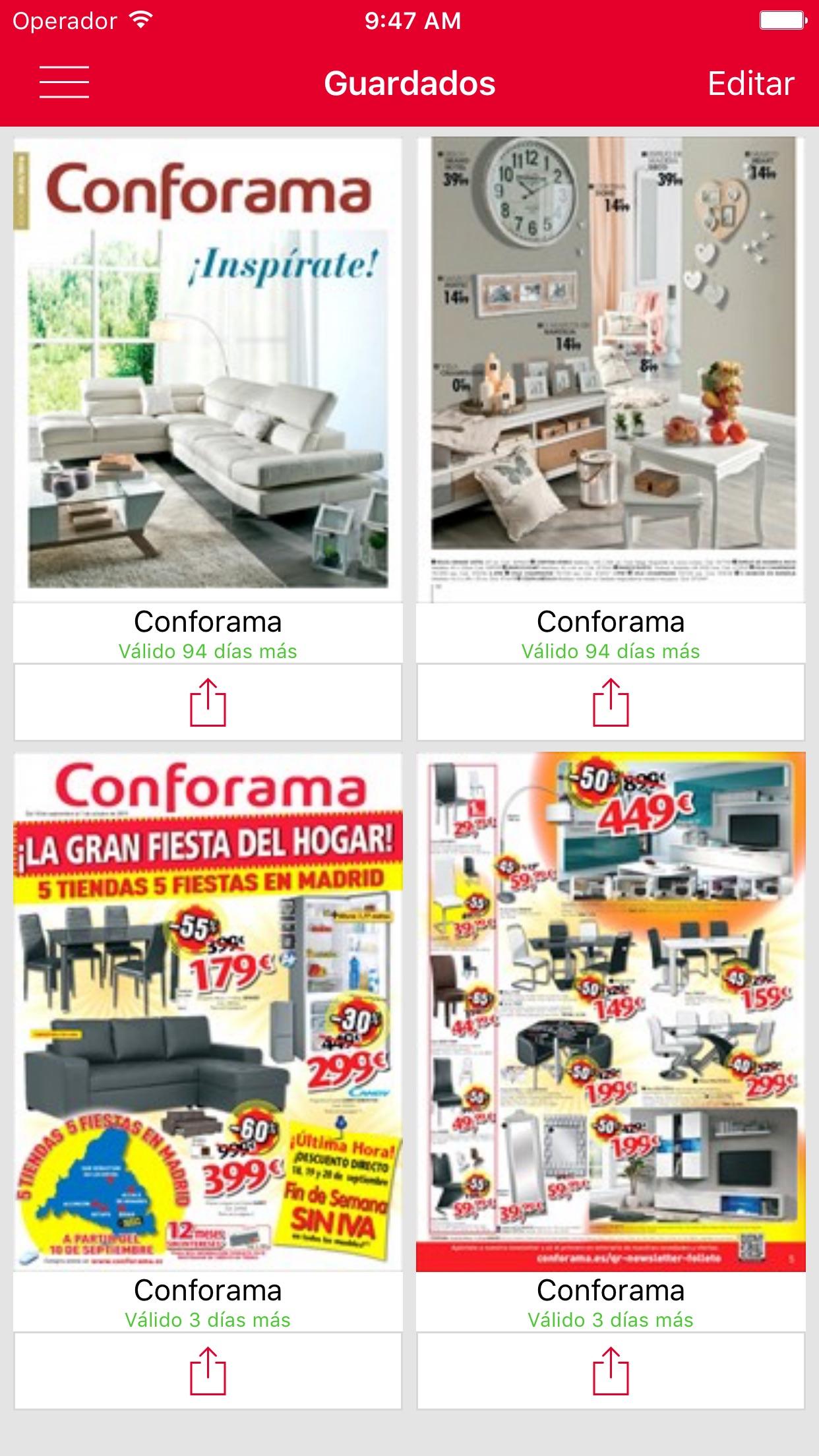Conforama: Muebles&decoración Screenshot