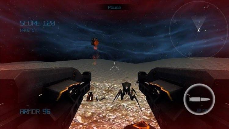 Alien Arachnid intersteller invasion 3D screenshot-3