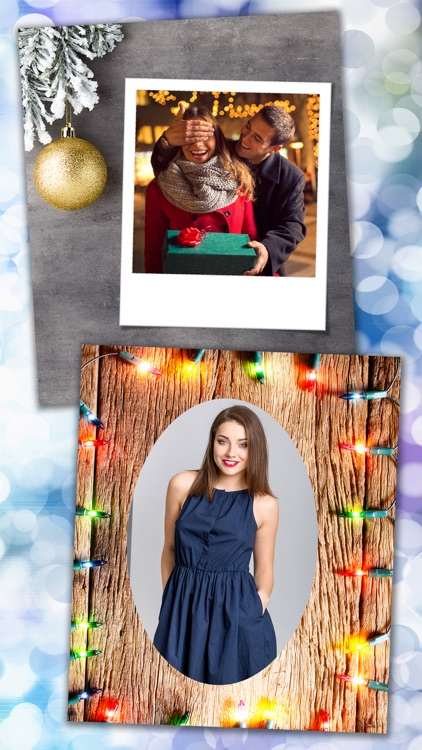 New Christmas Photo Frames & Picture Editor - Pro screenshot-1