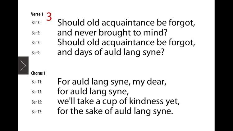 Auld Lang Syne Singalong