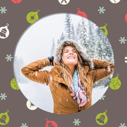 Creative Christmas Photo Frame Free