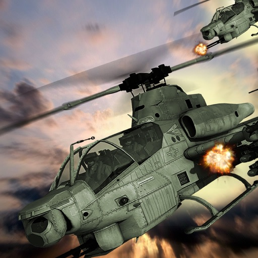 Helicopter Combat Sky Deluxe - Explosive Flight Simulator icon