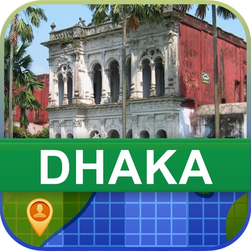 Offline Dhaka, Bangladesh Map - World Offline Maps