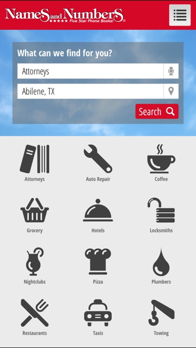 Names and Numbers Yellow Pages | App Price Drops
