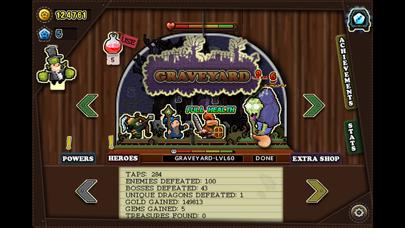 Tap Heroes - Adventure Battle QuestCaptura de pantalla de5