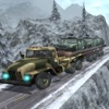 Army Heavy Truck Transport Cargo - Snow Driving 3D