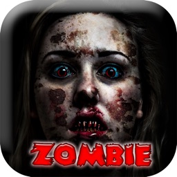 Zombie Face Makeup Horror Booth - Picture Frame.s