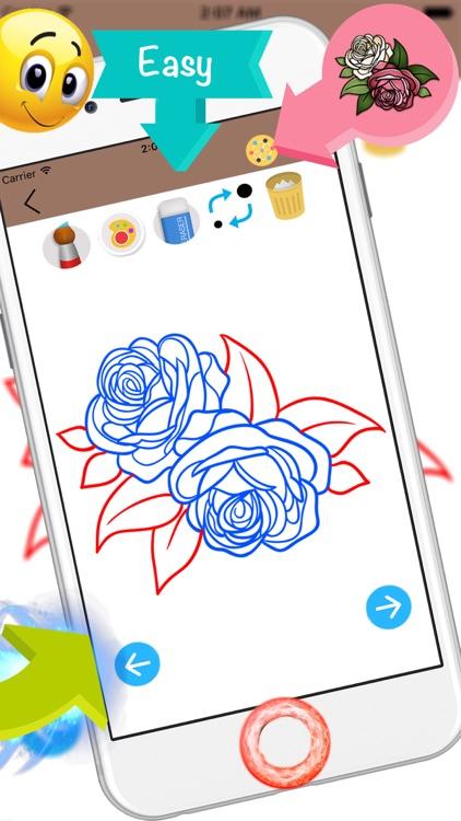 How To Draw a Flower screenshot-4