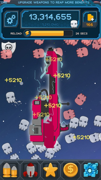 Space Clicker - Shooter Idle Clicker Game screenshot-4