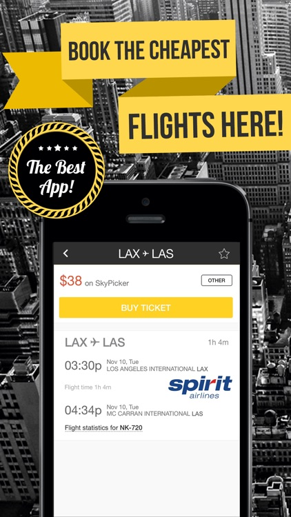 Cheapest Airfare Search & Flight Booking Engine - Compare United, Southwest, Spirit & All American Airlines - Tanie Loty screenshot-3