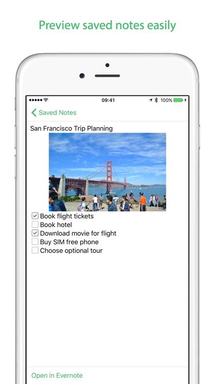 FastEver 2 - Quick memo app for Evernote screenshot-4